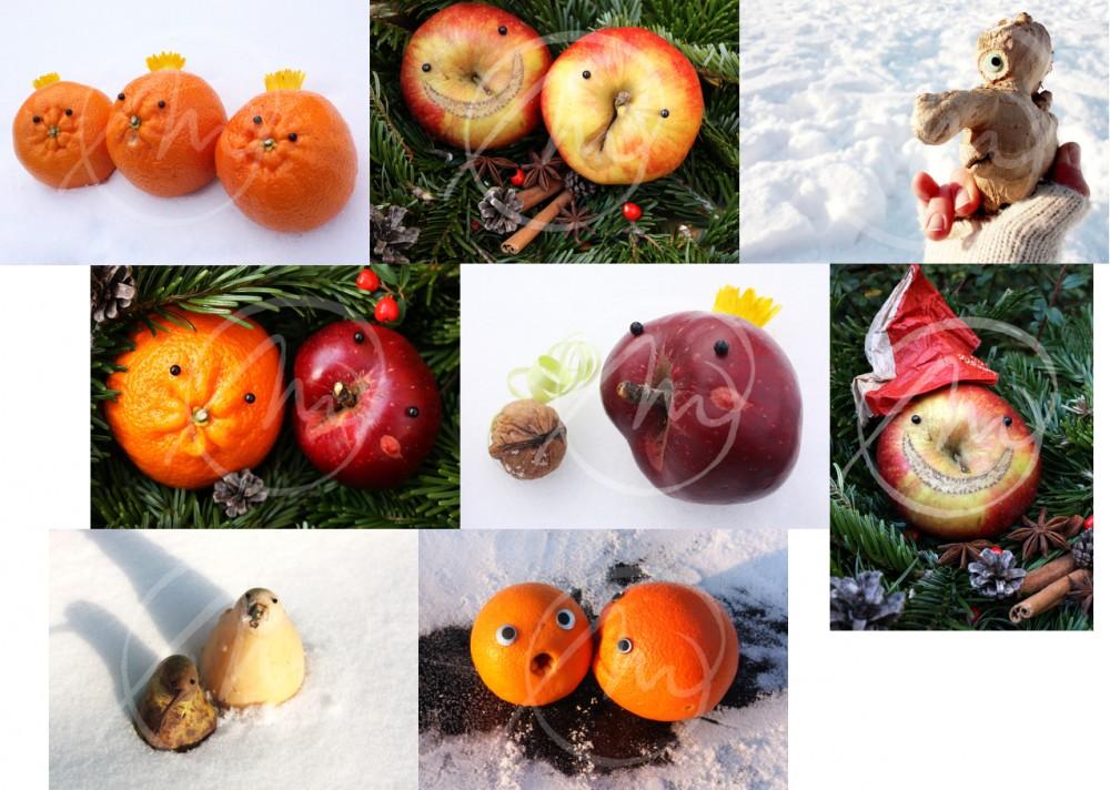 2012 Winter Kunstpostkarten